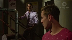 Tom Quill, Aaron Brennan in Neighbours Episode 7332