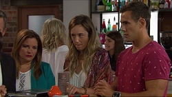 Terese Willis, Sonya Mitchell, Aaron Brennan in Neighbours Episode 7332