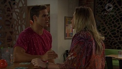 Aaron Brennan, Sonya Mitchell in Neighbours Episode 7332