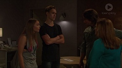Piper Willis, Brodie Chaswick, Brad Willis, Terese Willis in Neighbours Episode 7332