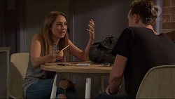 Piper Willis, Brodie Chaswick in Neighbours Episode 7333