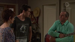 Susan Kennedy, Ben Kirk, Karl Kennedy in Neighbours Episode 7334