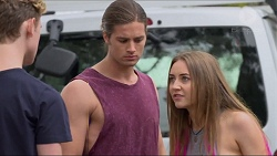 Brodie Chaswick, Tyler Brennan, Piper Willis in Neighbours Episode 7334