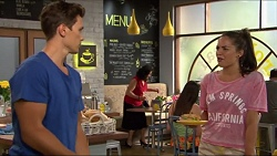 Josh Willis, Paige Smith in Neighbours Episode 7334