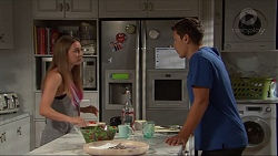 Piper Willis, Josh Willis in Neighbours Episode 7334