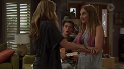 Xanthe Canning, Ben Kirk, Piper Willis in Neighbours Episode 7334