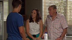 Josh Willis, Imogen Willis, Doug Willis in Neighbours Episode 7335