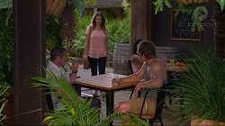 Toadie Rebecchi, Amy Williams, Kyle Canning in Neighbours Episode 7335