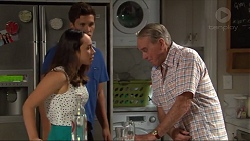 Imogen Willis, Josh Willis, Doug Willis in Neighbours Episode 7335