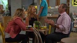 Sonya Rebecchi, Steph Scully, Toadie Rebecchi in Neighbours Episode 7336