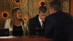 Terese Willis, Daniel Robinson, Paul Robinson in Neighbours Episode 7336
