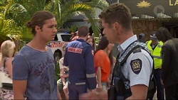 Tyler Brennan, Mark Brennan in Neighbours Episode 7337