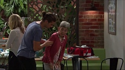 Tyler Brennan, Hilary Robinson in Neighbours Episode 7337