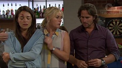 Paige Novak, Lauren Turner, Brad Willis in Neighbours Episode 7337