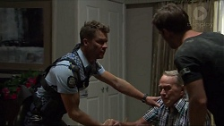 Mark Brennan, Doug Willis, Ned Willis in Neighbours Episode 7338