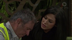 Karl Kennedy, Sarah Beaumont in Neighbours Episode 7338