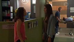 Imogen Willis, Paige Smith in Neighbours Episode 7338