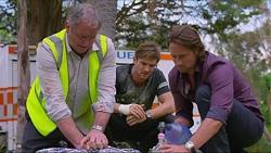 Karl Kennedy, Ned Willis, Brad Willis, Doug Willis in Neighbours Episode 7338