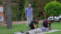 Doug Willis, Ned Willis, Brad Willis in Neighbours Episode 7338