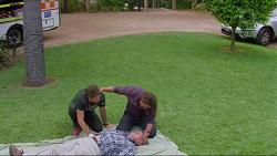 Ned Willis, Brad Willis, Doug Willis in Neighbours Episode 7338