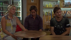 Lauren Turner, Brad Willis, Ned Willis in Neighbours Episode 7339