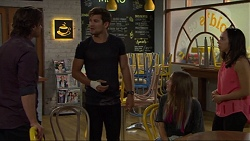 Brad Willis, Ned Willis, Piper Willis, Imogen Willis in Neighbours Episode 7339