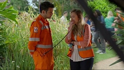 Nate Kinski, Sonya Mitchell in Neighbours Episode 7340