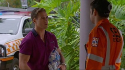 Aaron Brennan, Nate Kinski in Neighbours Episode 7340