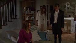 Terese Willis, Nina Williams, Paul Robinson in Neighbours Episode 7341