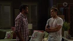 Nate Kinski, Aaron Brennan in Neighbours Episode 7341