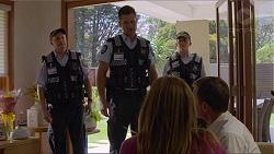 Mark Brennan, Terese Willis, Paul Robinson in Neighbours Episode 7341