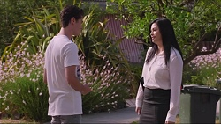 Ben Kirk, Sarah Beaumont in Neighbours Episode 7342