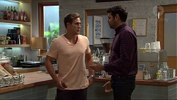 Aaron Brennan, Nate Kinski in Neighbours Episode 7342