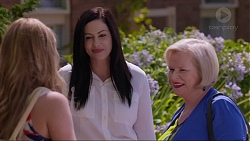 Xanthe Canning, Sarah Beaumont, Sheila Canning in Neighbours Episode 7342