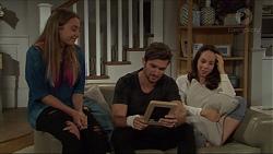 Piper Willis, Ned Willis, Imogen Willis in Neighbours Episode 7343