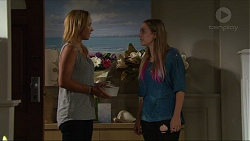 Steph Scully, Piper Willis in Neighbours Episode 7343