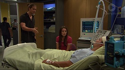 Tyler Brennan, Paige Smith, Jack Callahan in Neighbours Episode 7343