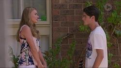 Xanthe Canning, Ben Kirk in Neighbours Episode 7343