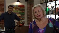Nate Kinski, Sheila Canning in Neighbours Episode 7344