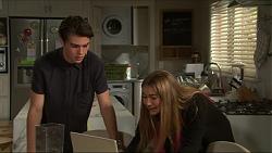 Ben Kirk, Piper Willis in Neighbours Episode 7344