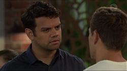 Nate Kinski, Aaron Brennan in Neighbours Episode 7344