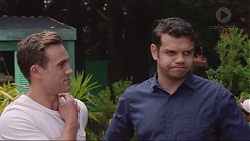 Aaron Brennan, Nate Kinski in Neighbours Episode 7345
