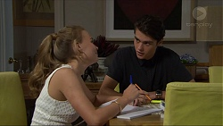 Xanthe Canning, Ben Kirk in Neighbours Episode 7345