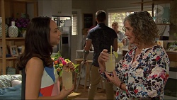 Imogen Willis, Daniel Robinson, Pam Willis in Neighbours Episode 7345