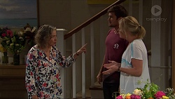 Pam Willis, Ned Willis, Lauren Turner in Neighbours Episode 7345