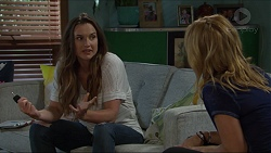 Amy Williams, Steph Scully in Neighbours Episode 7346