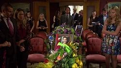 Toadie Rebecchi, Sonya Mitchell, Brad Willis, Xanthe Canning in Neighbours Episode 7346