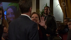 Piper Willis, Paul Robinson, Terese Willis, Brad Willis in Neighbours Episode 7346
