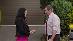 Sarah Beaumont, Toadie Rebecchi in Neighbours Episode 7347