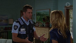Mark Brennan, Steph Scully in Neighbours Episode 7347
